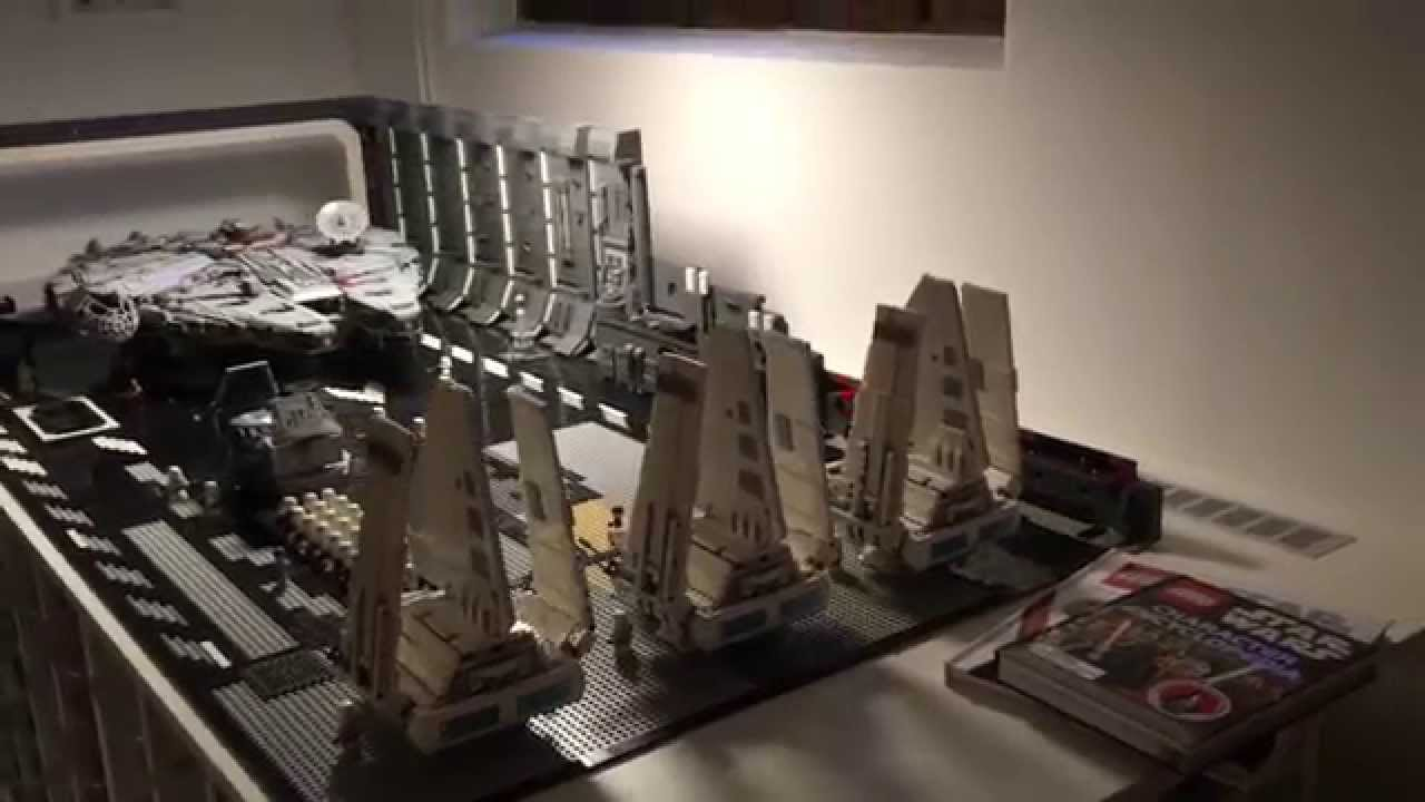 Lego Star Wars Ucs Collection Roomtour Clipzui Com