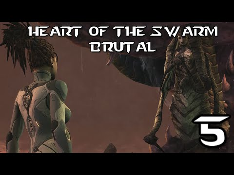 ♥ Heart Of The Swarm Brutal 5 - Fire In The Sky ( Char 2 )