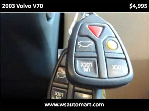 2003 Volvo V70 Used Cars St Augustine FL