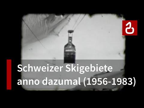 Schweizer Skigebiete anno dazumal (1956-1983)
