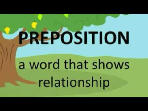 Preposition tutorial