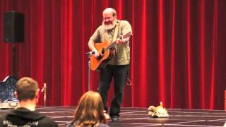 "David Landau Sings The ""butterfly Song"" At The Natural Parenting Expo"