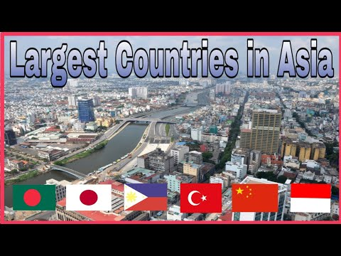 Top 10 Largest Countries in Asia by Population