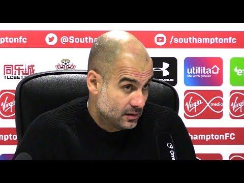 Southampton 1-3 Manchester City - Pep Guardiola Full Post Match Press Conference - Premier League