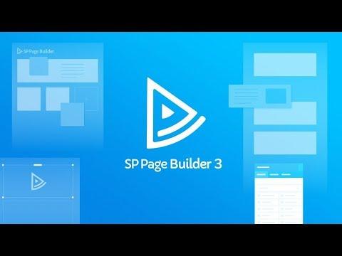 Joomla плагин SP Page Builder Pro 3.2.4 + шаблоны страниц скачать бесплатно