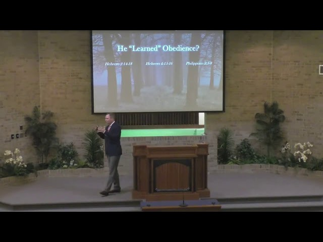 He Learned Obedience (Heb 5:8) 08/23/2020 - church of Christ sermon