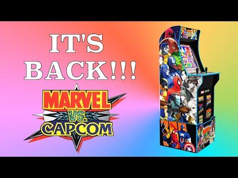 Arcade1Up Marvel vs Capcom | It's BACK!!! from Original Console Gamer