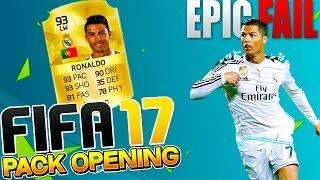 OMG Ronaldo sau Epic Fail din Nou?! - FIFA 17 Pack Opening