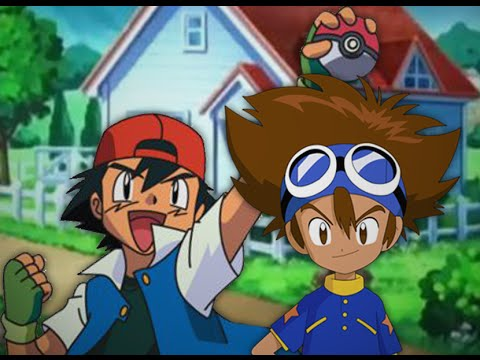 Ash Ketchum vs Taichi Kamiya. Epic Rap Battles of Cartoons Season 3.