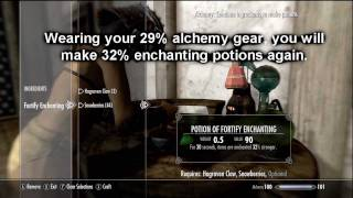 Baixar Skyrim Tradeskills # 1 -  Perks + Gear Preparation Guide - Smithing Alchemy Enchanting