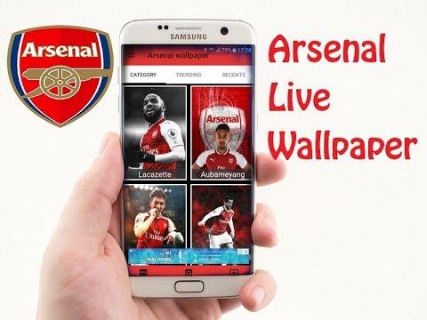 Arsenal Live Wallpaper Android Studio