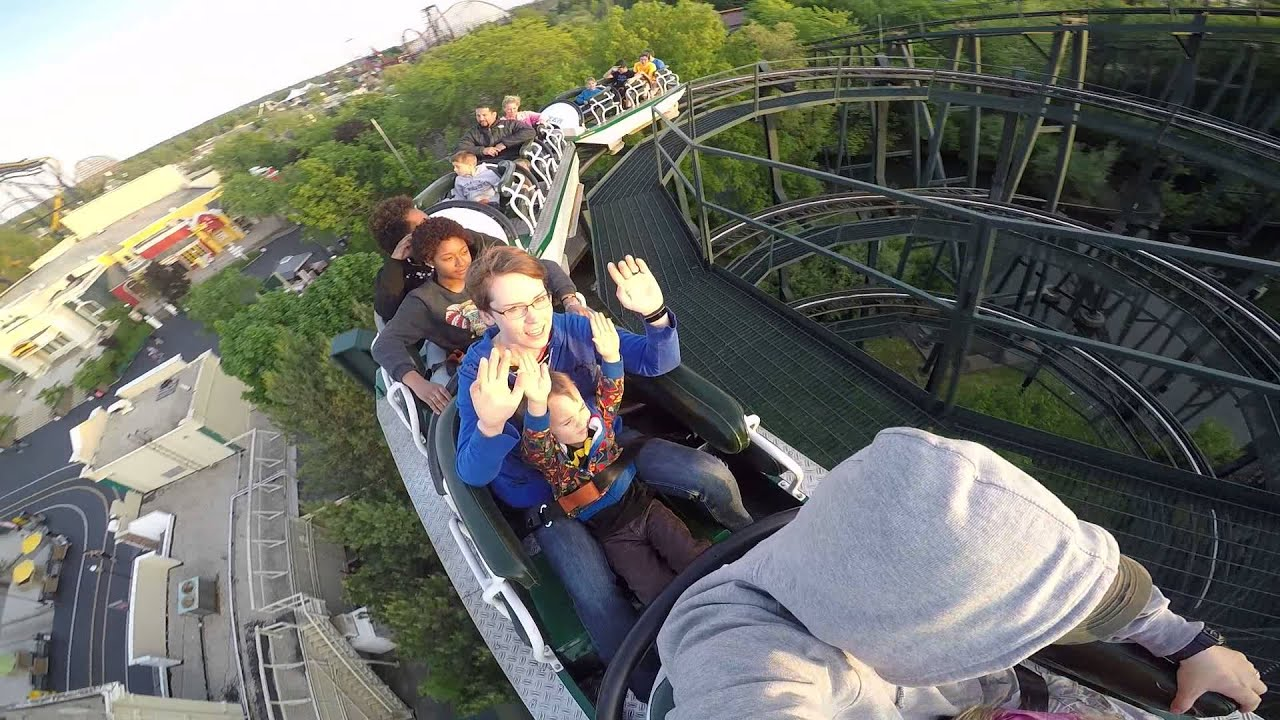 Whizzer Six Flags Great America Youtube