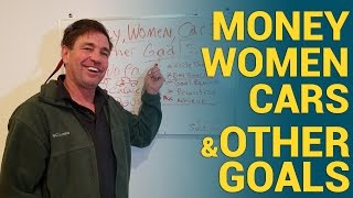 Money, Women, Cars & other goals! Stay focused making money!