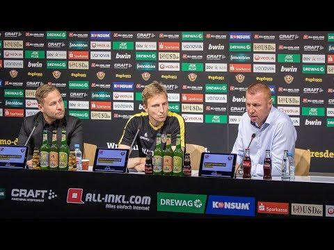 9. Spieltag   FCM - SGD   Pressekonferenz vor dem Spiel