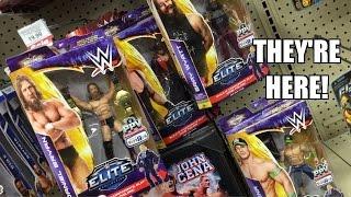 WWE ACTION INSIDER: ToysRus ELITE Best of PPV Mattel Wrestling Figures Finally found in USA RETAIL!