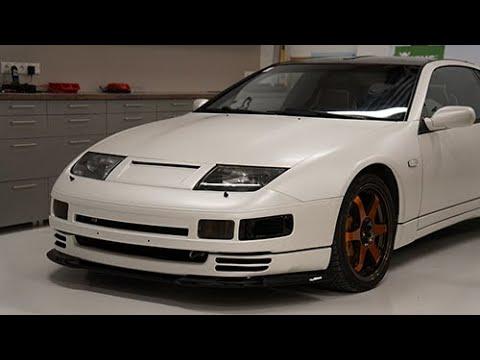Satin Pearl White Nissan 300ZX Twin Turbo