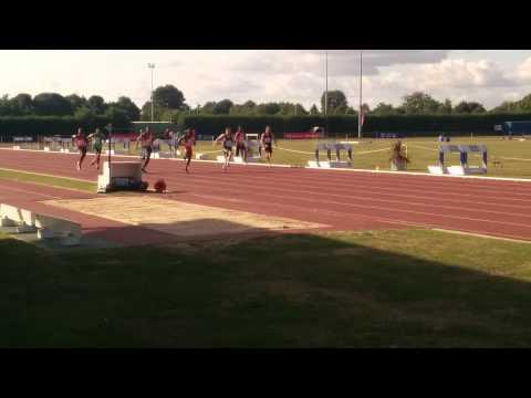 UK Counties championships 100m senior men