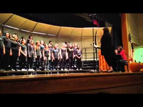 Cavazos Middle School Varsity Choir - Silent Moon