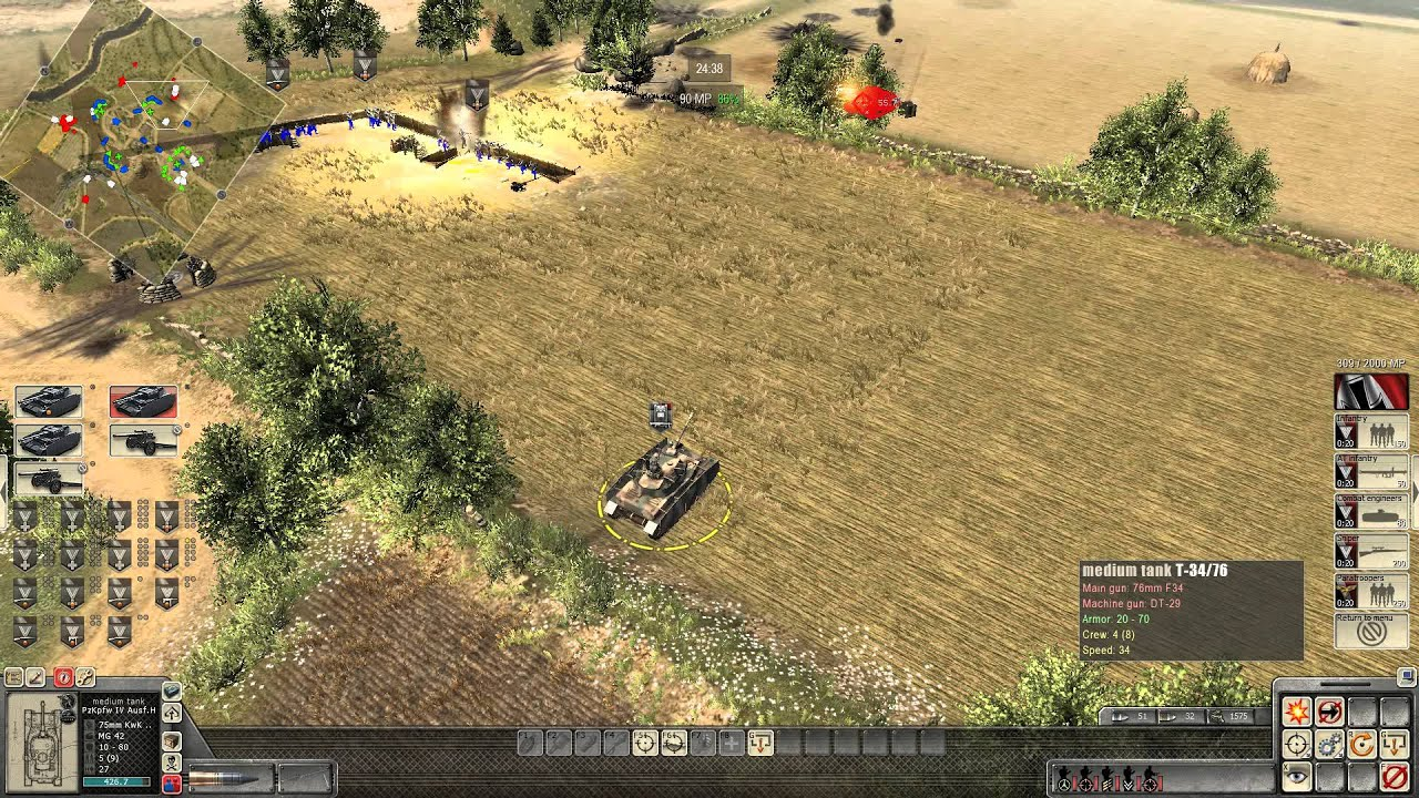 Download Let´s play Men of war: Assault Squad 2 Campaign Germany Seelow Heights part 1