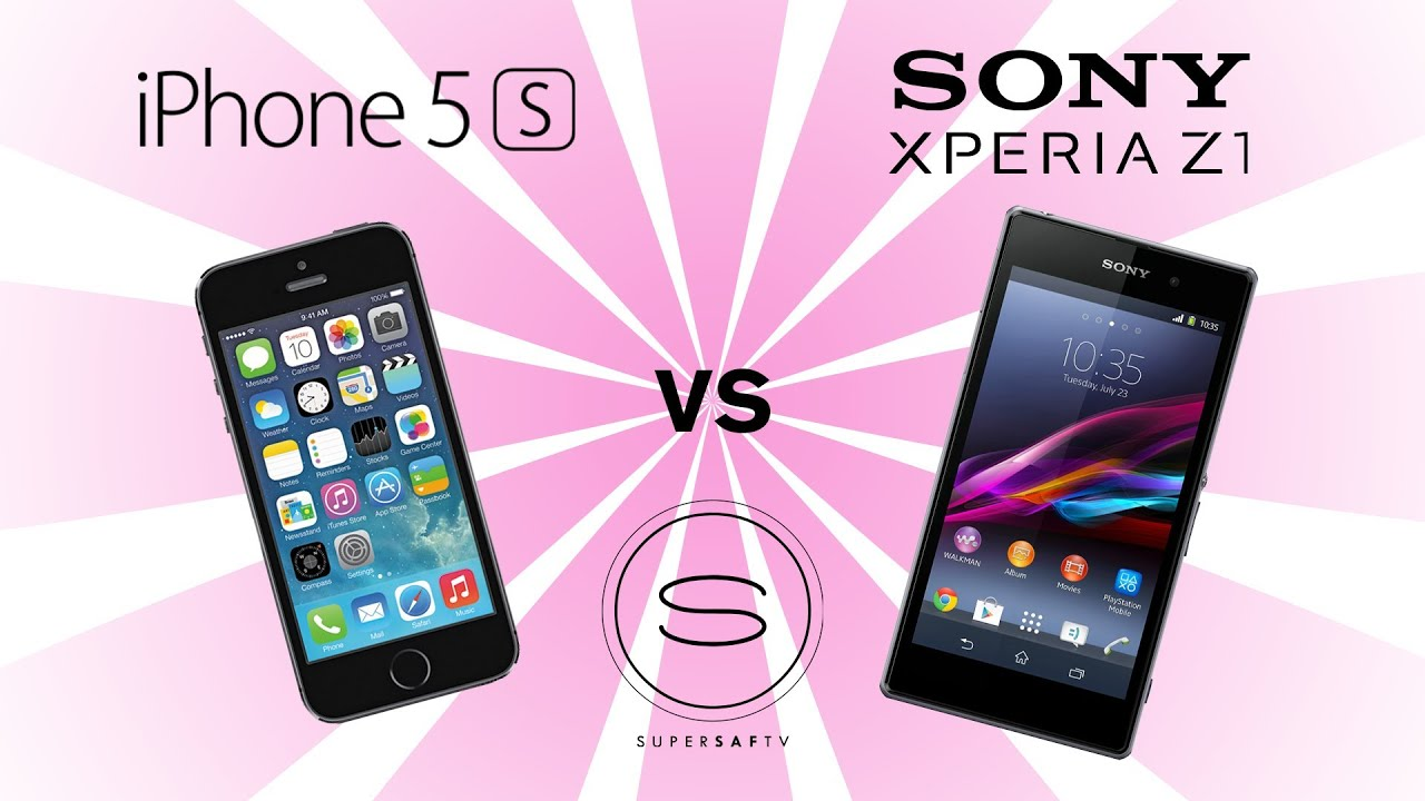 sony xperia z vs iphone 5s