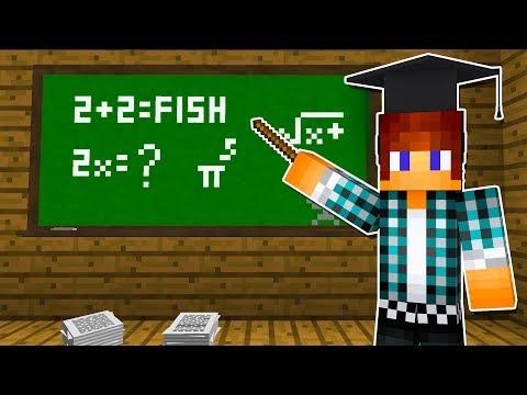 Minecraft - ESCOLA MINECRAFT !! ( Minecraft School )