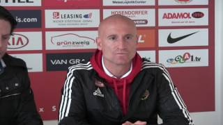 Pressekonferenz nach Admira Wacker vs. Rapid Wien
