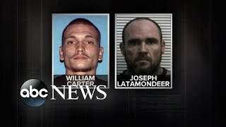Urgent manhunt for two inmates after a jail break in Missouri