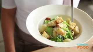 Broccoli Pasta With Parmesan Croutons | Everyday Food With Sarah Carey