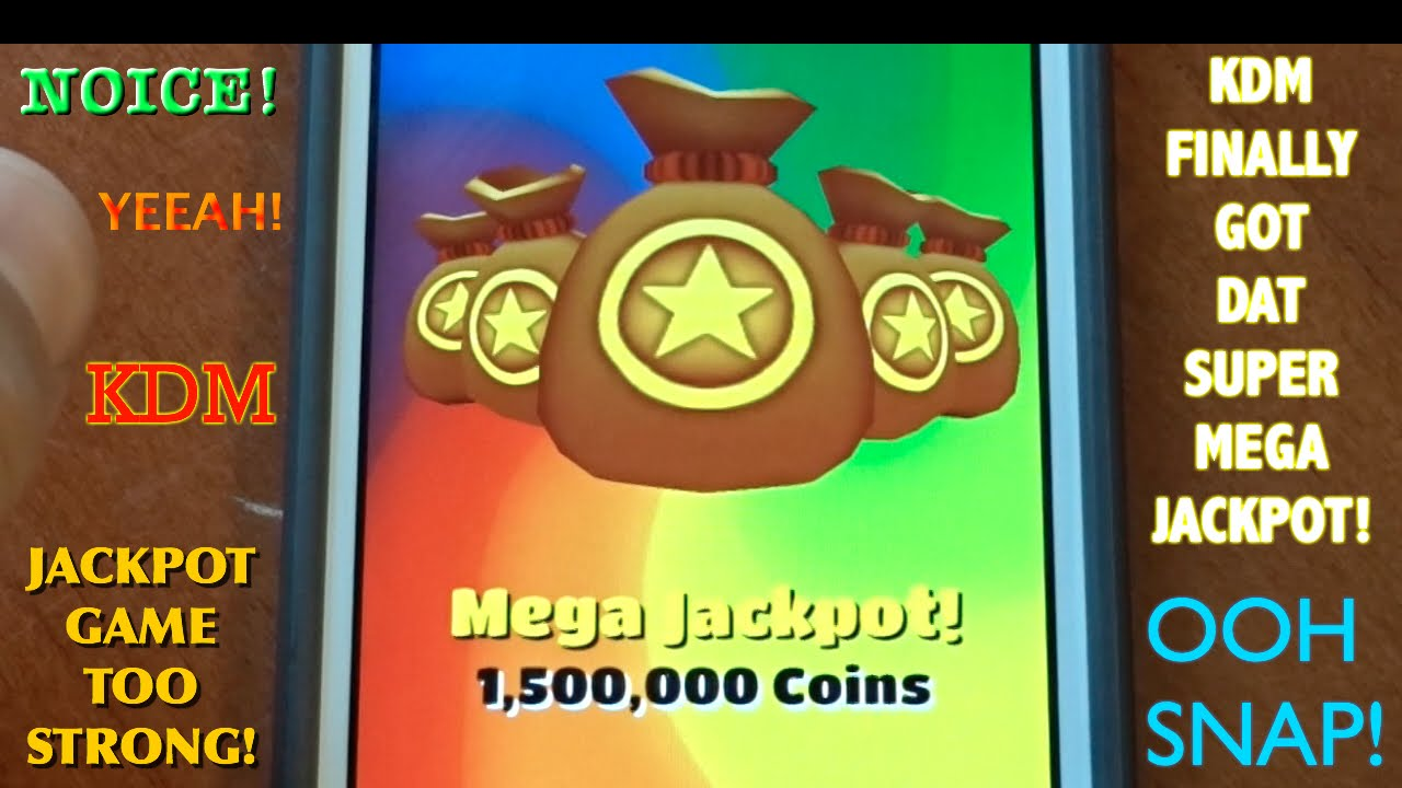 mega jackpot subway surfers