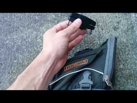 Novara bike seat bag installation