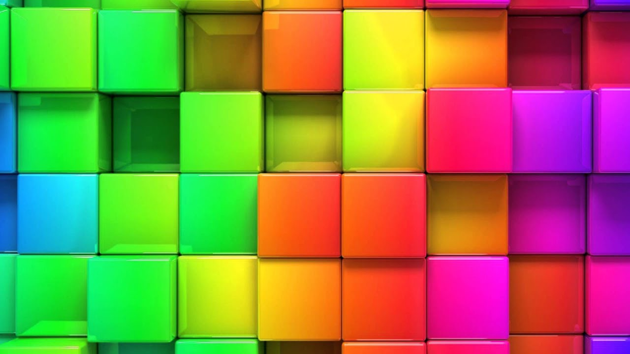 3ds max how to show the background color of cubes