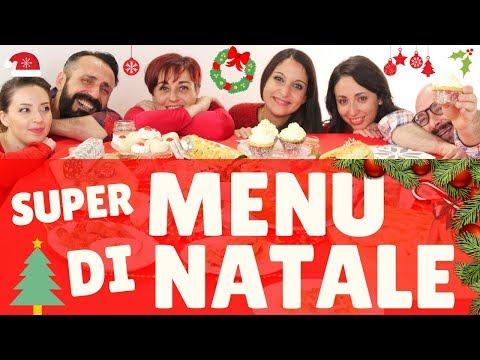 I Menu Di Benedetta Natale.Super Menu Di Natale 2017 Con Mille Ricette Per Tutti Best Christmas Menu Ideas For 2017 Youtube