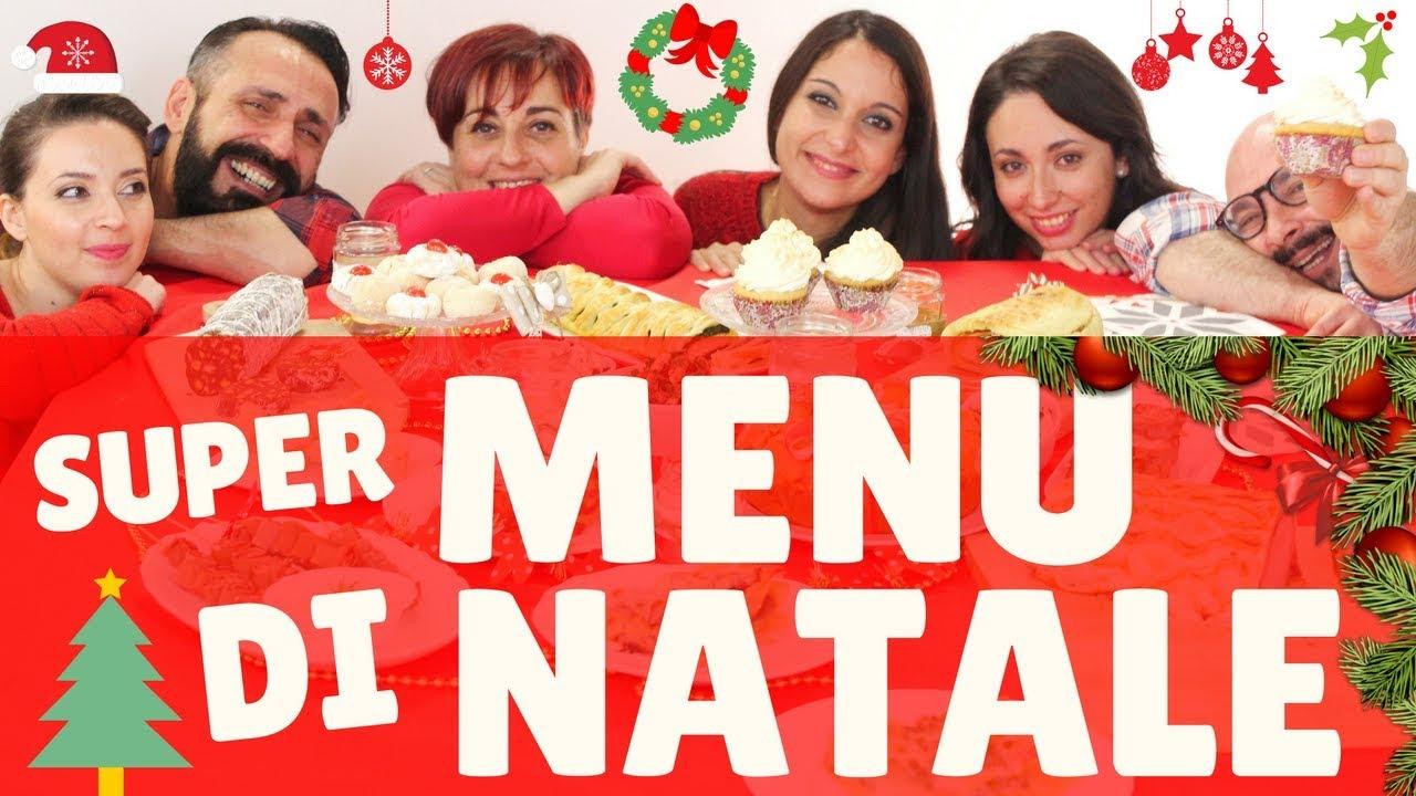 Menu Di Natale A Casa.Super Menu Di Natale 2017 Con Mille Ricette Per Tutti Best Christmas Menu Ideas For 2017