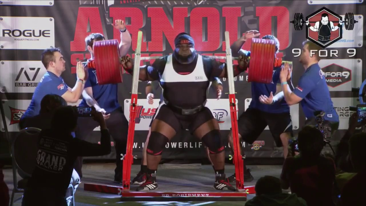 Ray Williams 1052 Pound World Record Squat
