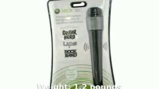 Microsoft Xbox 360 Wireless Microphone - Full Specs