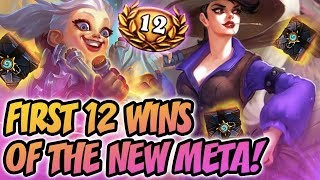 First 12 Win of the New Meta!