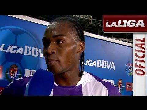 Entrevista a Manucho tras el Real Valladolid (2-2) Sevilla FC - HD