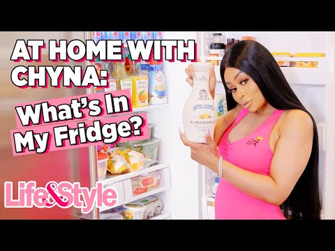 Blac Chyna Fridge Tour | At Home With Chyna