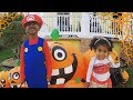 Trick-or-Treating! | A WHOLE DAY EARLY!!
