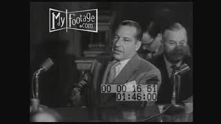 1951 Kefauver Committee Frank Costello Hearing (Original Audio)(Outtakes)