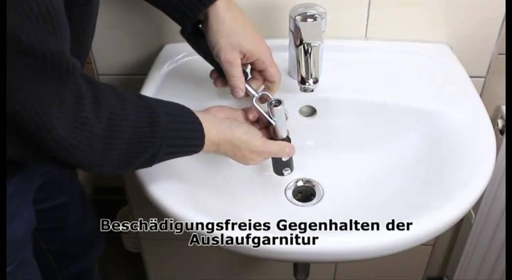 Sinkfix 9tlg Waschtisch Montage Satz Youtube