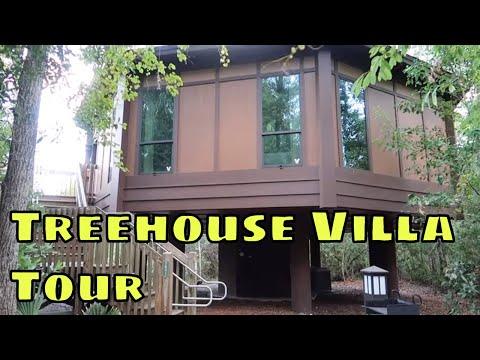 Disney's Treehouse Villas At Saratoga Springs Tour - Magical Mondays #98