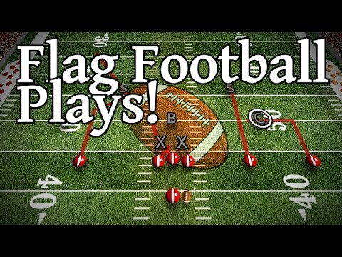 7 Man Flag Football Plays How To Beat A Zone Defense Youtube