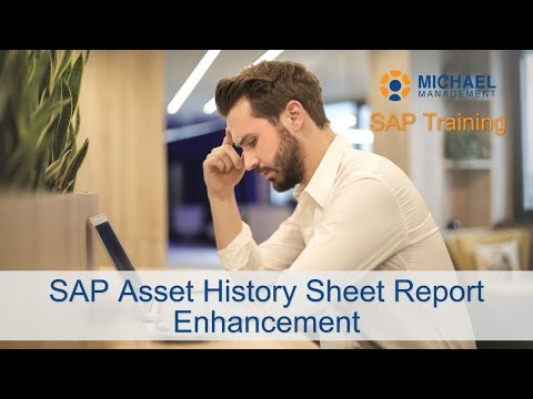 SAP Asset History Sheet Report Enhancement
