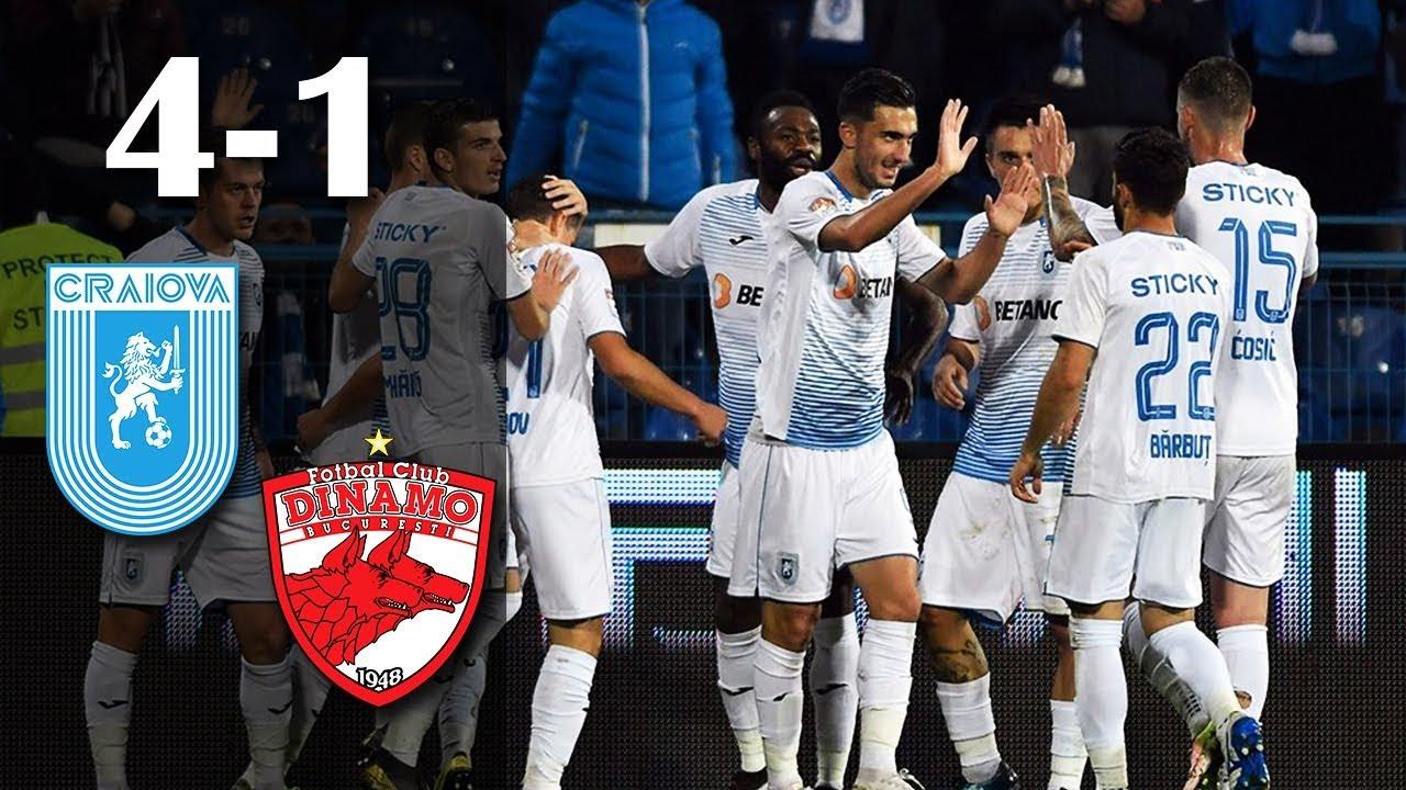 Rezumat: U Craiova - Dinamo 4-1   Dubla pentru Andrei Ivan   2019-2020