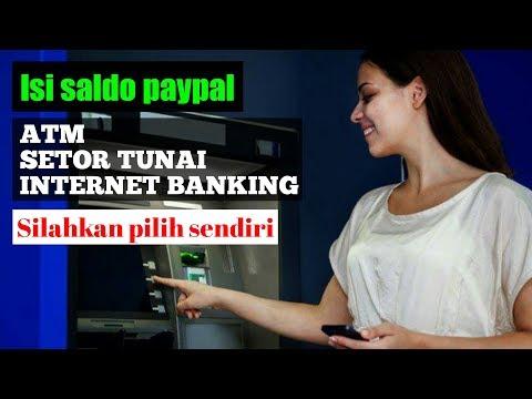 Cara Mudah Mengisi Saldo Paypal Melalui Transfer Bank, ATM, SMS Banking dan Internet Banking.