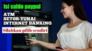 Gambar cover Cara isi saldo paypal menggunakan kartu debit