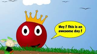 Game cartoon - Red Ball Red Ball 2 Complete passage Quest for the missing crown Video for children
