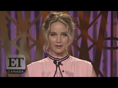Download Youtube: Jennifer Lawrence Praises Fellow Actresses At Women In Entertainment Event