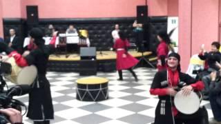 Адыгея-Танец на барабане.